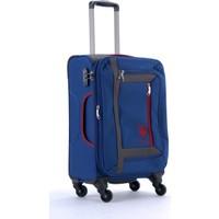 U.S. Polo Assn. 6013 4 Tekerlekli Kabin Boy Valiz Lacivert