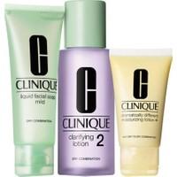 Clinique 3 Adımlı Cilt Bakım Sistemi Cilt Tipi 2 İntro Kit