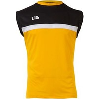 Lig Abant Antreman Kolsuz T-Shirt Sarı-Siyah