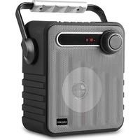 Mikado MD-1437 3W Gümüş/Gri Usb-TF-Fm Destekli Bluetooth Taşınabilir Speaker