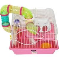 Dayang Hamster Kafesi Lüks-Borulu