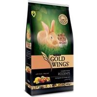 Gold Wings Premium Meyveli Kemirgen Yemi 1 Kg 5'Li Paket