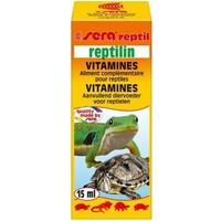 Sera Reptilin Kaplumbağa İçin Vitamin Takviyesi 15 Ml