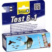 Tetra Test 6 İn 1 Tatlı Su Strip Test 25 Adet