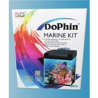 Dophin Deniz Akvaryum Kit Siyah 32X30X36