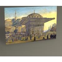 Tablo 360 İstanbul Tophane Çeşmesi 45X30