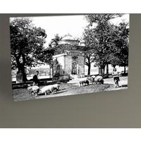 Tablo 360 Eski İstanbul Küçüksu Mihrişah Valide Sultan Çeşmesi 1880 45X30