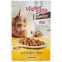 Miglior Gatto Sterilized Tavuk Ve Hindili Kısır Kedi Konservesi 85 Gr