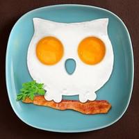 OM Silikon Yumurta Pişirme Kalıbı Baykuş