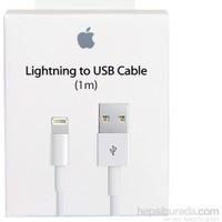 Apple Lightning Data Kablosu (1 Metre) iPhone 5-5S-SE-6-6S-7-8-Plus MD818ZM/A (Apple Türkiye Garantili)