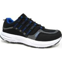 Lepons 004 Merdane Erkek Spor Ayakkabı - Siyah - Mavi