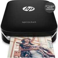 HP Sprocket Siyah Fotoğraf Yazıcı Z3Z92A