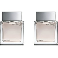 Calvin Klein Euphoria Men Edt 100 Ml + Calvin Klein Euphoria Men Edt 100 Ml 2'li Erkek Parfüm Set