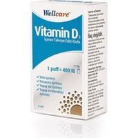 Wellcare - Vit D3 400'lü - 5 ml