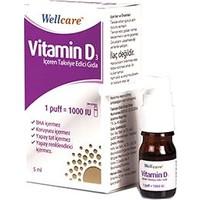 Wellcare - Vitd3 1000'li - 5 ml