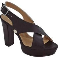 Mammamia Mammamiad17Ya-3885 Kadın Platform Topuklu Ayakkabı Siyah