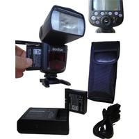 Godox Lion Bataryalı V860Iı N Flaş, V860N Flaş, V860Iı Flaş For Nikon, D5600 Flaş, D750 Flaş, D7500 Flaş, D9400 Flaş