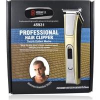 Hobimtek Profesyonel Şarjlı Saç Sakal 02Mm Tıraş Makinesi Bakım Traş Seti