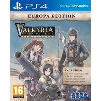 Sega Valkyrıa Chronıcles Remastered Europa Edition Ps4
