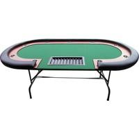 Pusula Oyun Buffalo Profesyonel Poker Masası (Katlanabilir Bacaklar, Özel Dokuma Çuha, Avrupa'Dan İthal)