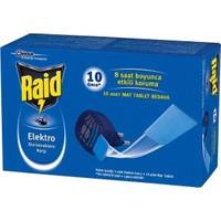 Raid Elektro Makine + 10 Adet Mat Tablet