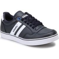 Kinetix Pontech Pu Lacivert Beyaz Erkek Sneaker Ayakkabı