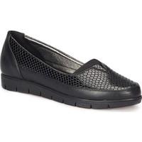 Polaris 72.158011.Z Siyah Kadın Loafer Ayakkabı