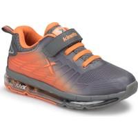 Kinetix Peranıx Gri Neon Turuncu Erkek Çocuk Koşu Ayakkabısı