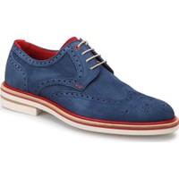 Roberto Ley 15443 Lacivert Erkek Deri Modern Ayakkabı