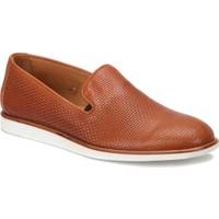 A.Bottega Vg-12078 Kahverengi Erkek Deri Modern Ayakkabı