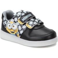 Minions Lıka Siyah Erkek Çocuk Sneaker Ayakkabı