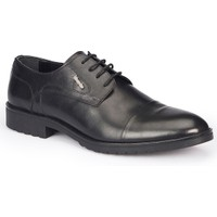 Mercedes Echan Siyah Erkek Deri Ayakkabı