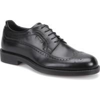 Mercedes Gellert Siyah Erkek Deri Ayakkabı