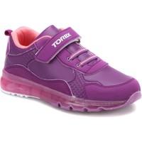 Torex Jerry Mor Somon Kız Çocuk Sneaker Ayakkabı