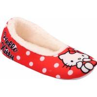 Hello Kitty 90037 Kf Kırmızı Kız Çocuk Babet Ayakkabı