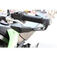 Knmaster Motosiklet Karbon Desenli Elcik Koruma Km1476