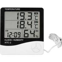 Knmaster Htc-2 Saatli Nem Ölçer Ve Termometre Kö1459
