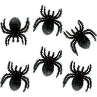KullanAtMarket Halloween Örümcek Dekor Süs 6li
