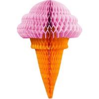 KullanAtMarket Pembe Külah Dondurma Küçük Petek Süs