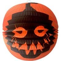 KullanAtMarket Halloween Turuncu Bal Kabagi Baskili Top Fener