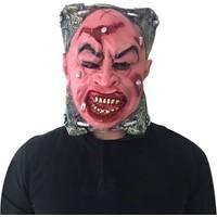 KullanAtMarket Halloween Korkunç Yüzü Çivili Maske