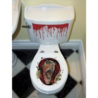KullanAtMarket Halloween Tuvalet Sticker