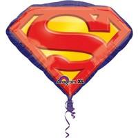 KullanAtMarket Superman Amblem SuperShape Folyo Balon 66cm
