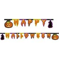 KullanAtMarket Happy Halloween Harf Afiş