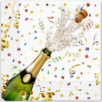 KullanAtMarket Konfeti Kutlama Kağıt Peçete 33x33cm