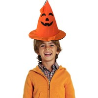 KullanAtMarket Halloween Balkabağı Külah Şapka Püsküllü