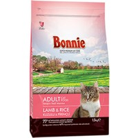 Bonnie Kuzu Etli Pirinçli Yetişkin Kedi Maması 1,5 kg