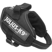 Julıus-K9 16Idc-P-Mm Idc-Göğüs Tasması Beden: Baby Mini-Mini Siyah