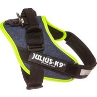 Julius-K9 Idc-Göğüs Tasması Kot-Neon | 14-25Kg Ve 58-76Cm Göğüs Çevresi