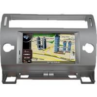 Citroen Eski C4 Multimedya Navigasyon Kamera Bluetooth Televizyon
